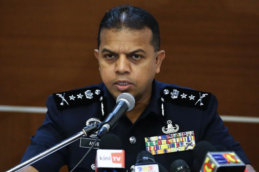 Bukit Aman Counter-Terrorism asst director Ayob Khan appointed ...